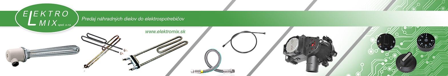 ELEKTRO-MIX - náhradné diely do elektrospotrebičov, ohrevné telesá
